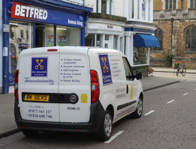 All Masons Locksmiths van